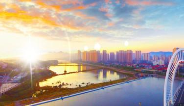 【在云飞桥上看日出吧】---锦州全景网